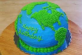 Ecofriendly Birthday Cake